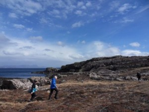 Guided running, Scotland. Tame the Wild